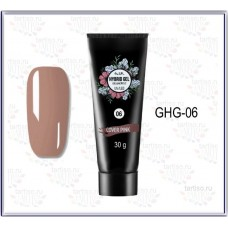 HYBRID GEL UV/LED №06  COVER PINK 30гр.